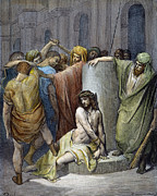 Pontius Pilate Prints - Jesus: Scourging Print by Granger