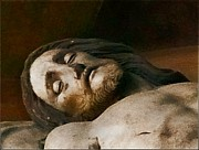 Jesus Digital Art - Jesus Sleeps by Lori Seaman