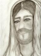Jesus Print by Sonya Chalmers