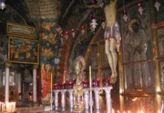 Eastern Orthodox Photos - Jesus Tomb Jerusalem by Valia Bradshaw