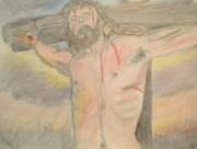 Jesus  Print by Victoria Hasenauer