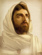 Christian Artwork Digital Art - Jesus Wept by Ray Downing