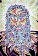 Ascention Posters - Jesus Year 2000  Detail A Poster by Robert  SORENSEN