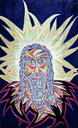 Christ Pastels Prints - Jesus Year 2000 Print by Robert  SORENSEN