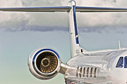 Aircraft Engine Prints - Jet Aircraft Print by Patrick M Lynch