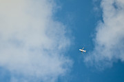 Air Travel Prints - Jet Airplane in Flight Print by Eddy Joaquim