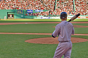 Boston Red Sox Prints - Jeter Print by Joann Vitali
