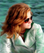 Redheads Metal Prints - Jewel of Contemplation Metal Print by Colleen Taylor
