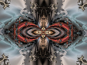 """algorithmic Abstract"" Framed Prints - Jewel of the ice princess Framed Print by Claude McCoy"