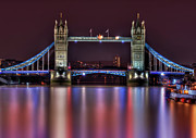 Bridge Photos - Jewel Of The Night by Evelina Kremsdorf