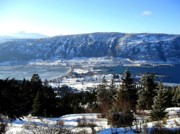 Picturesque Town Prints - Jewel Of The Okanagan Print by Will Borden