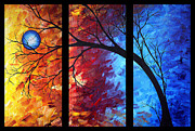 Megan Duncanson Metal Prints - Jewel Tone II by MADART Metal Print by Megan Duncanson