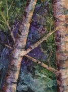 Jewel Tones Originals - Jewel Trees by Renee Chastant