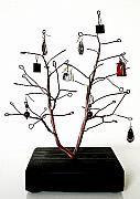 Tree Jewelry - Jewelry tree display -JTD1 by Omer Huremovic