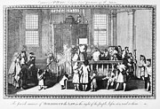 Rabbi Framed Prints - JEWISH LIFE, 18th CENTURY Framed Print by Granger