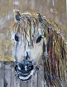 Stable Painting Originals - Jezabelle by Barbara Pearston