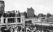 West Berlin Framed Prints - Jfk In Berlin, 1963 Framed Print by Granger