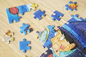 Game Piece Photos - Jigsaw Puzzle by Johnny Greig
