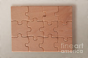 Interlocking Photo Framed Prints - Jigsaw Puzzle Framed Print by Photo Researchers, Inc.