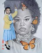 Then Drawings - Jill Scott by Charlene Cooper