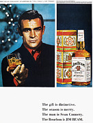 Actor Posters - Jim Beam Ad, 1966 Poster by Granger