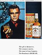Jim Beam Ad, 1966 Print by Granger