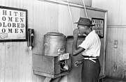 Fountain Photograph Prints - Jim Crow Laws 1939 Print by Granger
