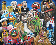 Teeth Framed Prints - Jim Henson and Co. Framed Print by Tom Carlton