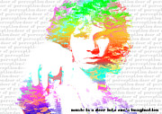 Music Digital Art - Jim Morrison Artwork by Irina Totolici