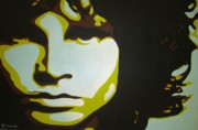 Pop Art Prints Painting Originals - Jim Morrison by Ashley Price