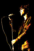 Wild Digital Art Metal Prints - Jim Morrison Metal Print by DB Artist