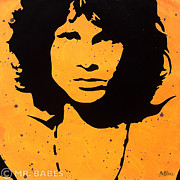 Murakami Art - Jim Morrison by Mr Babes