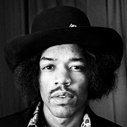 Jimi Hendrix Photos - Jimi Hendrix 1967 by Chris Walter