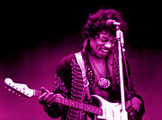 Jimi Hendrix Photos - Jimi by Jerry Killian