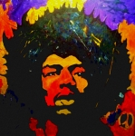 Jimi Painting Originals - Jimi The Man by Neal Barbosa