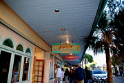 Bar Back Posters - Jimmy Buffets Margaritaville Key West Poster by Susanne Van Hulst