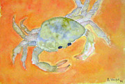 Pinchers Posters - Jimmy Crab Poster by Bonnie Wright