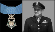 Honor Digital Art Posters - Jimmy Doolittle and The Medal of Honor Poster by War Is Hell Store
