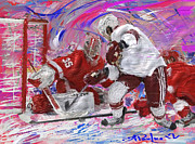 Jimmy Howard II Print by Donald Pavlica
