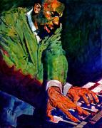 Music Legend Paintings - Jimmy Smith Root Down by David Lloyd Glover