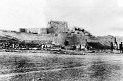 20st Century Photos - Jimrud Fort In The Khyber Pass by Everett