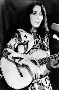 Singer Songwriter Photos - Joan Baez (1941-   ) by Granger