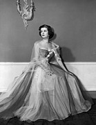 1950s Fashion Metal Prints - Joan Bennett, Ca. Early 1950s Metal Print by Everett