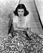 Print Blouse Prints - Joan Bennett, Portrait Print by Everett