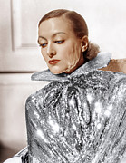 Sequins Framed Prints - Joan Crawford, Photo By Hurrell, Ca Framed Print by Everett