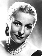 Fontaine Prints - Joan Fontaine, 1950s Print by Everett