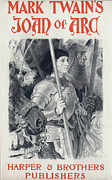 Book Cover Prints - Joan Of Arc, By Mark Twain Print by Everett
