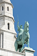Sacre Coeur Art - Joan of Arc IV by Fabrizio Ruggeri