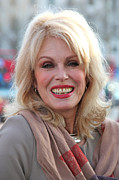 Joanna Lumley 3 Print by Jez C Self