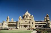 Manicured Prints - Jodhpur Bhawan Palace Print by Gloria and Richard Maschmeyer - Printscapes